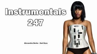 Alexandra Burke - Bad Boys (Instrumental & Lyrics)
