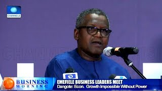 Economic Growth Impossible Without Power - Dangote
