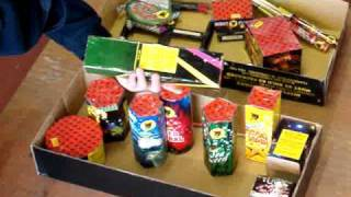 All Night Party Selection Box by Black Cat Fireworks - Epic Fireworks