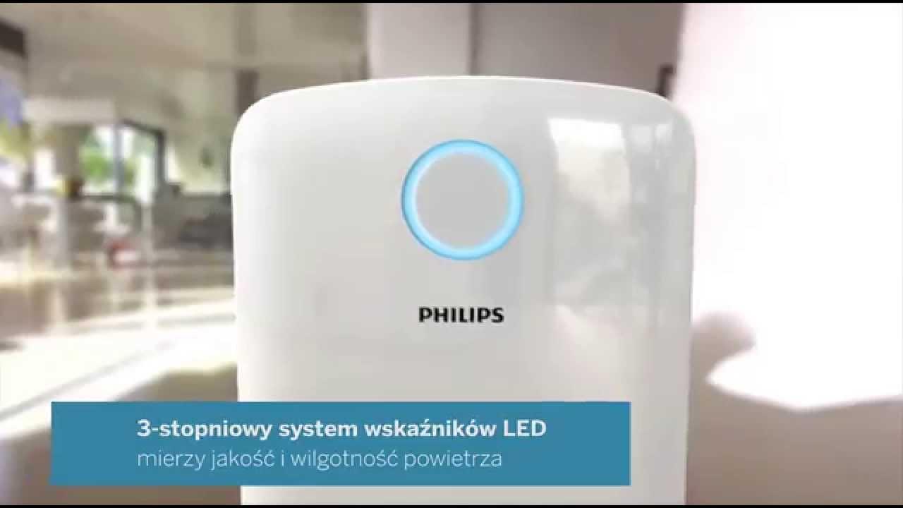 Nawilżacz i oczyszczacz powietrza w jednym! Zobacz jak działa Philips Combi AC4080