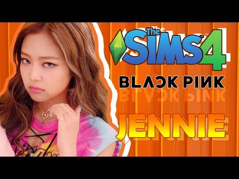 [The Sims 4] Create A Sim | #2 Jennie BLACKPINK ❤ (+CC Links Download)
