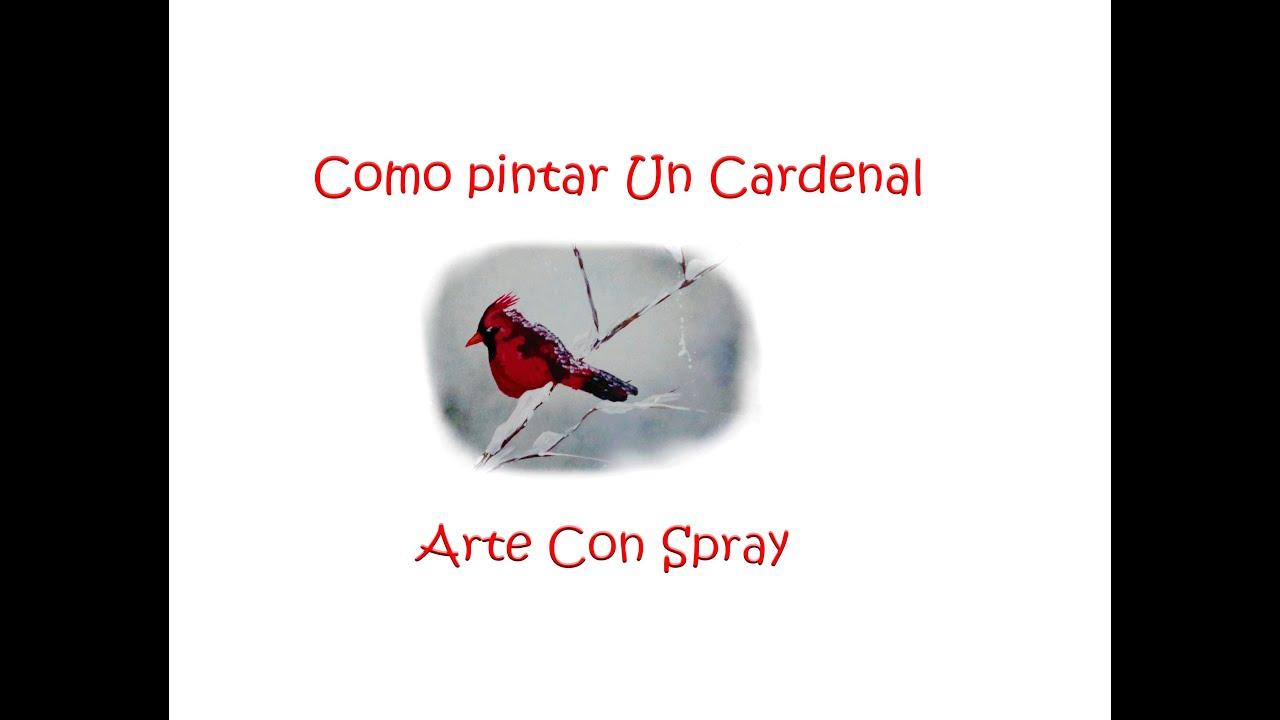 Como Pintar Un Cardenal - YouTube