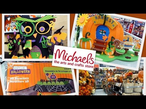 michaels stores fall season decor kids halloween craft 3d structure creatalogy youtube - Michaels Halloween