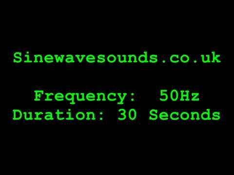 50hz Sinewave - Test Tone / Sound