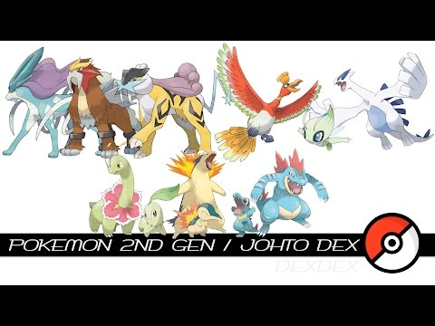 Pokemon 2nd Gen / Johto Dex
