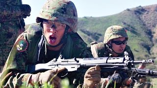 JGSDF Platoon Attack Training – Japan Ground Self-Defense Force (陸上自衛隊)