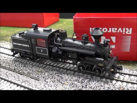 Review: Rivarossi Two Truck Heisler HO Scale Locomotive
