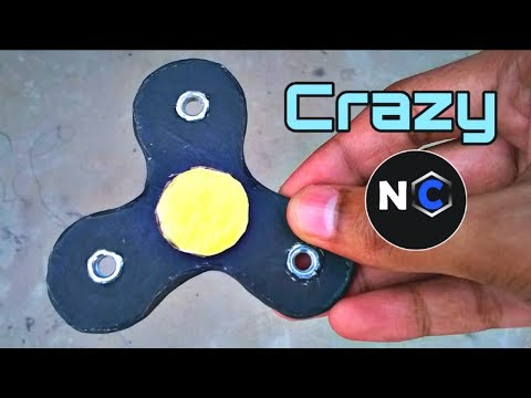 How to make fidget spinner without bearings