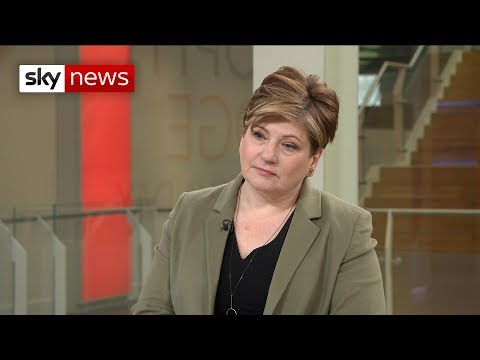 Emily Thornberry: May is &39;out of control&39;