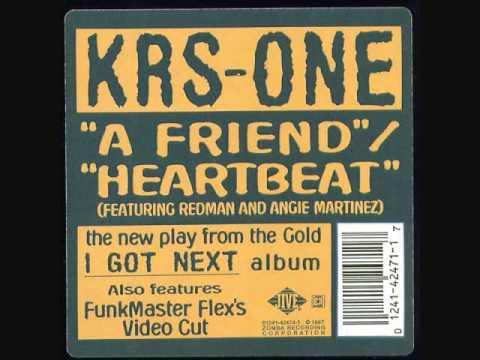 KRS-ONE -- A Friend instrumental