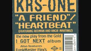 KRS-ONE -- A Friend instrumental