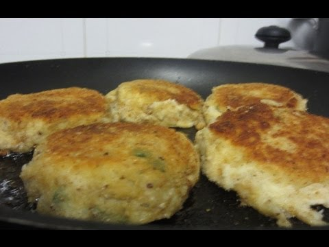 How to make fish cakes youtube for How to make fish patties