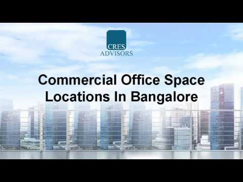 Ready to move in Commercial Office Space Locations in Bangalore