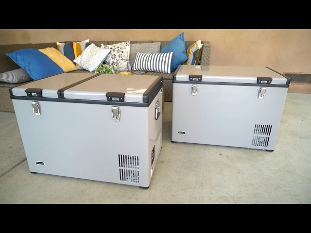 Whynter Portable Fridge / Freezer Featuring FM-65G and FM-62DZ