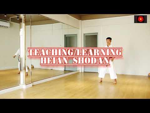 Hướng dẫn bài quyền số 1 karate - Heian Shodan