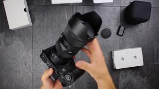 Sigma SD Quattro und 18-35/f1.8 ART -Unboxing und Hands on!