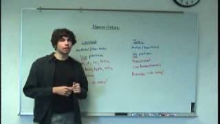 Nomenclature Basic Concept