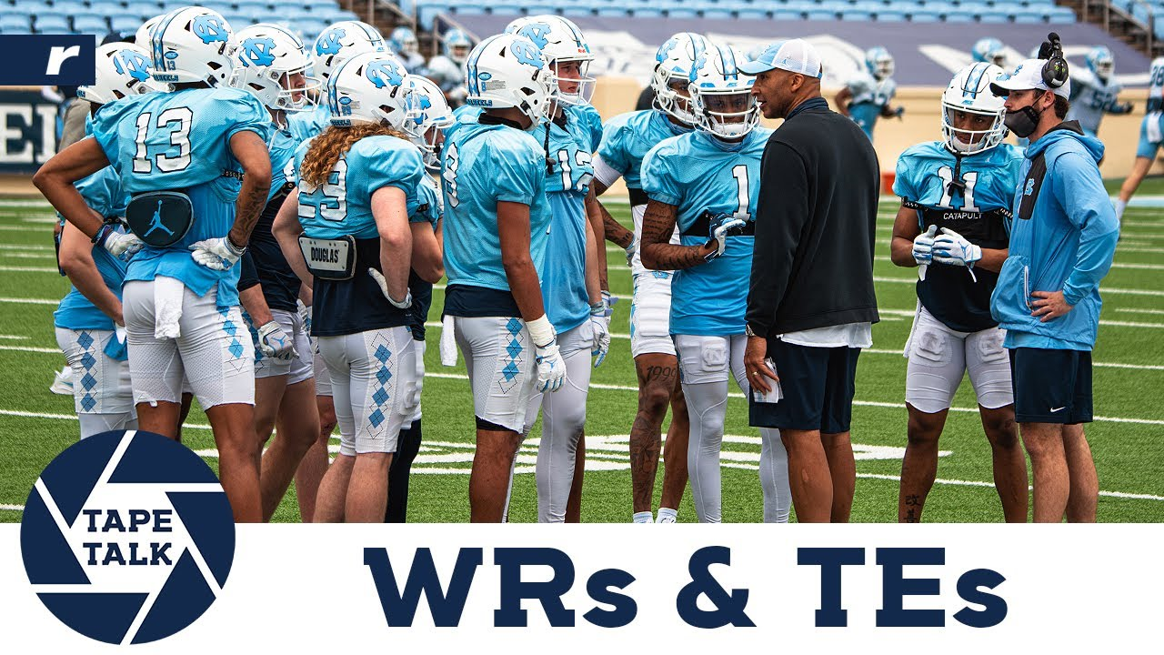 Video: Tape Talk - UNC's Wide Receivers & Tight Ends
