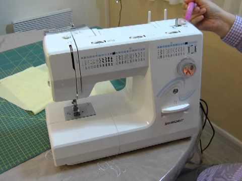 Masina de cusut silvercrest partea 1 5 youtube for Silvercrest macchina da cucire