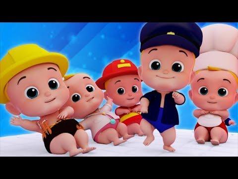 Junior Squad Cartoons  Kindergarten Nursery Rhymes And Kids Songs