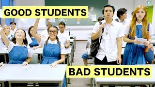 GOOD STUDENTS vs BAD STUDENTS thumbnail