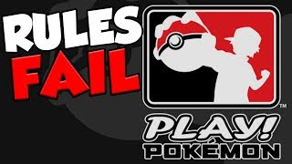 Pokemon Rules FAIL! Pokemon Company Doesn't Know Their Own Game!