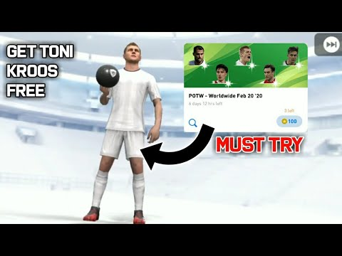 HOW TO GET TONI KROOS FROM PLAYER OF THE WEEK PACK || PES 2020 MOBILE/CONSOLE