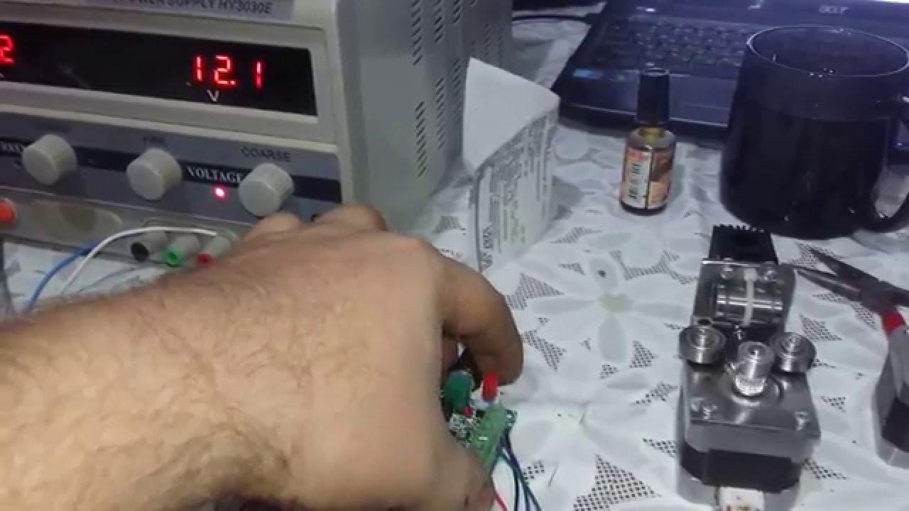 Stepper Motor Driver Speed Board Controller Pulse Signal Generator Module
