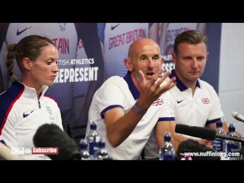 NEIL BLACK GETS GRILLED ABOUT MO FARAH - IAAF World Championships - Nuffin' Long Athletics