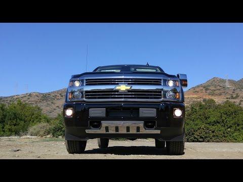 2016 Chevrolet Silverado HD Video Review