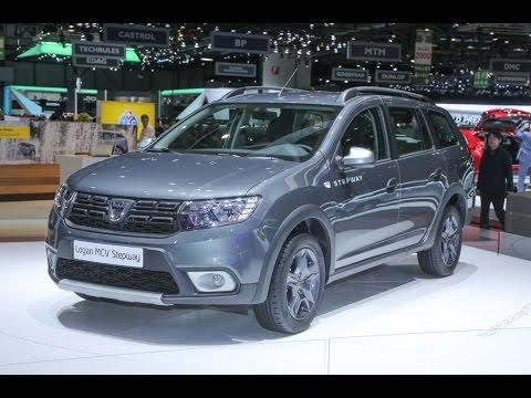 2017 dacia logan mcv stepway revealed youtube. Black Bedroom Furniture Sets. Home Design Ideas