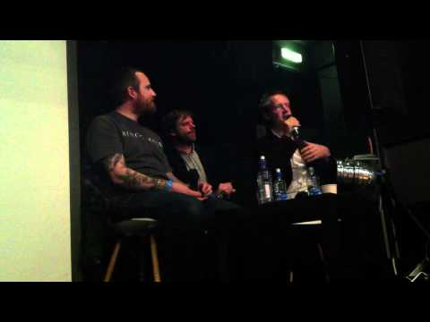 William Bennett of Whitehouse / Cut Hands Q & A Supersonic 2011