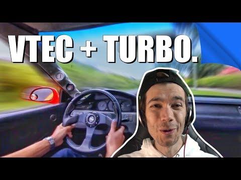 VTEC + TURBO = 🔥