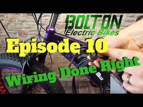 How to build an Ebike ep. 10 - Wiring and how to make it look good