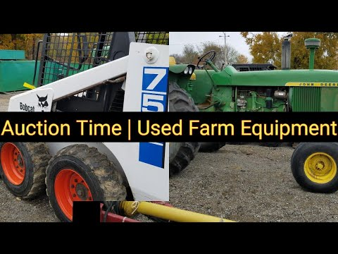 Auction Time | Used Farm Equipment