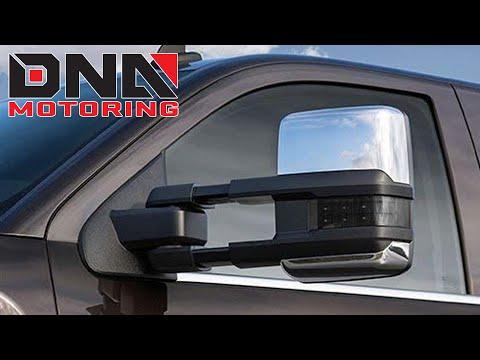 How to Install 14-17 GMC Sierra Chevy Silverado Tow Mirrors
