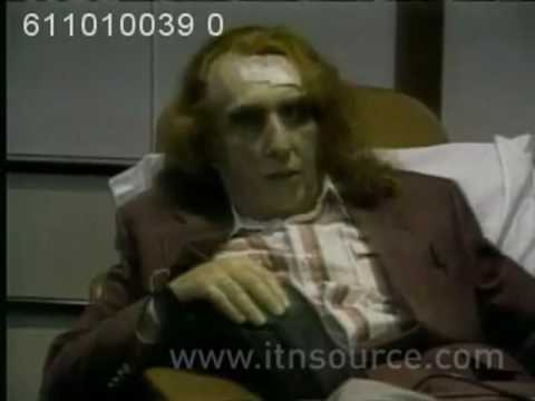 Tiny Tim interview at the hospital after his first heart attack