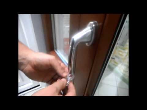 Installazione Antiurto ad OTTO per la protezione di maniglie e pareti