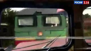 Видео столкновения поездов в Москве: столкнулись поезд и электричка 2017