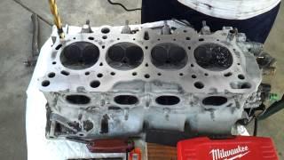 Drilling b16a head for lsvtec b20vtec