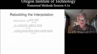 OIT Math 451 session 4.1a: Finite Difference Introduction and Lagrange Interpolation