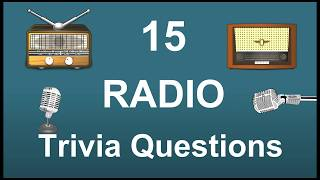 15 Radio Trivia Questions | Trivia Questions & Answers |