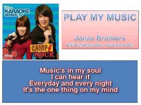 01 Play My Music - Official Karaoke / Instrumental (Lyrics)