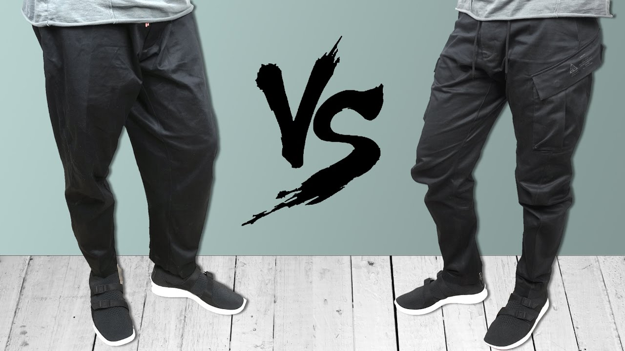 4bb9a3d54c ACG Techwear Pant SHOWDOWN: Cargo VS Woven - YouTube