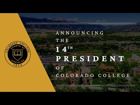 Announcing the 14th President of Colorado College