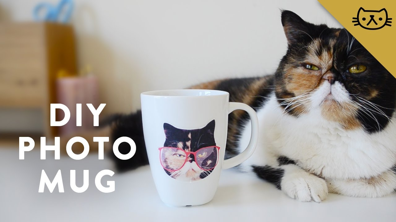 DIY Waterslide Photo Transfer Mug YouTube