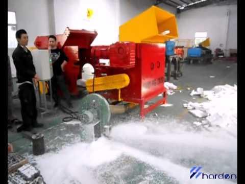 Expended Polystyrene Recycling, Polystyrene Recycling, Styrofoam Recycling Machine