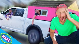 Surviving in a Tiny House Truck!! *Fast Food Challenge!*