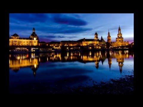 Zeitraffer Dresden bei Nacht 2 - Dresden at night 2 time-lapse    (4k)