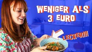 3 einfache, vegane Rezepte unter 3 Euro mit